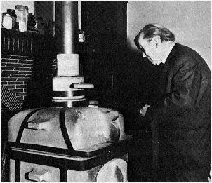 Eugène Canseliet y el antimonio